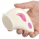 Mini Facial Skin Care Vibrating Massager Set - White (1 x AA)