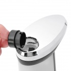 Automatic Touch-Free Soap Sanitizer Dispenser w/ Optional Musical Chime - Black + More (4 x AAA)