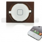 Replacement Home Key w/ Pad for iPhone 4S - White