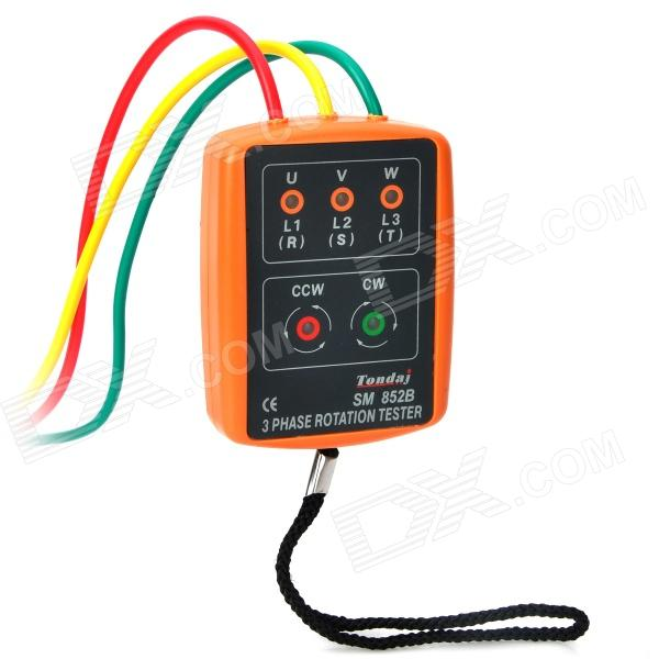Phase Indicator w/ Open Phase Checker and Buzzer - Orange vfd220b43a delta vfd b vfd inverter frequency converter 22kw 30hp 3 phase 380v 400hz general vector type