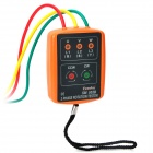 Phase Indicator w/ Open Phase Checker and Buzzer - Orange