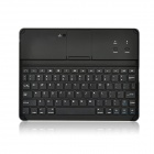 Rechargeable 78-Key Bluetooth V3.0 Keyboard for iPad 2 / New iPad - Silver + Black