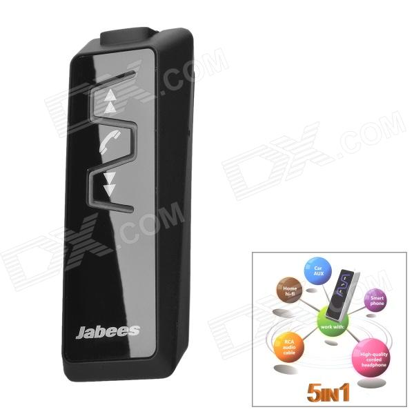 Jabees Rechargeable Bluetooth V3.0 Stereo Headset Earphone - Black
