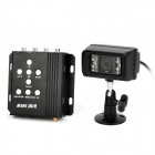 MPEG-4 Mini DVR Digital Video Recorder w/ 18-IR LED Night Vision / SD - Black