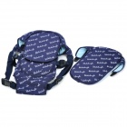 Shubeikangbi 98222 Multifunction Baby Carrier w/ Protection Board + Shoulder Strap - Deep Blue