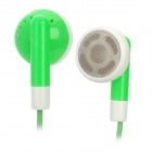 Stylish Earphone for iPhone / iPad / iPod - Green (3.5mm / 115cm)