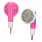 Stylish Earphone for iPhone / iPad / iPod - Pink (3.5mm / 115cm)