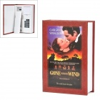 Creative Gone with The Wind Book Shaped Wired Telephone - Red