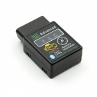 HHOBD ELM327 Bluetooth OBDII Vehicle Diagnostic Scan Tool - Black (DC 12V)