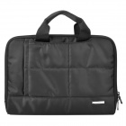 "Fashion Water Resistant Nylon + Woolen Hand Carrying Bag for Ipad / 10"" Laptop Tablet - Black"