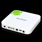 TB100 1080P Full HD Android 2.3 3D Network Media Player w/ Wi-Fi / SD / HDMI / Dual USB - White(4GB)