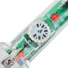 40W Adjustable Temperature Soldering Iron for Electronics DIY - Green + Silver (AC 220V)