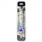 Intelligence Toy Non Slip Spinning Pen Ballpoint Pen - White