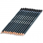 Senior Sketch Drawing Graphic Pencil Set - Grey (12 PCS)