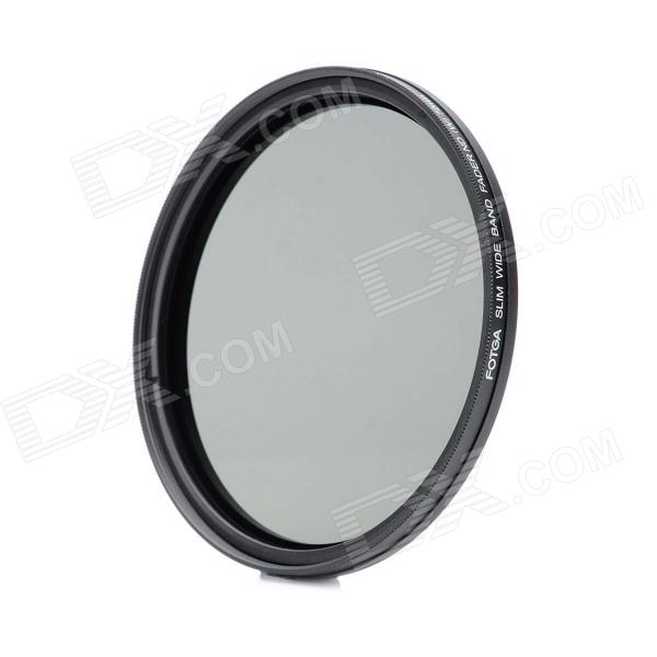 FOTGA Neutral Density ND2-ND400 Fader ND Filter (72mm) fotga neutral density nd2 nd400 fader nd filter 72mm