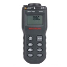 "MS6450 1.8"" LCD Ultrasonic Distance Measurer w/ Red Laser Pointer - Black Grey (1 x 6F22)"