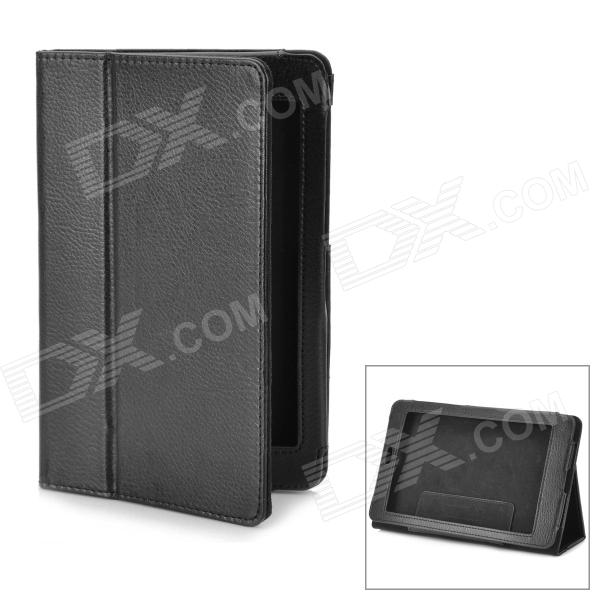 Stylish Protective PU Leather Flip-Open Case for Google Nexus 7 - Black nexus confessions volume two