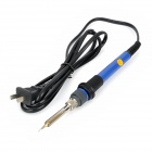 25W~60W Temperature Adjustable Gun Welding Soldering Iron - Blue + Black (AC 220V)