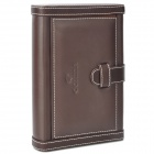 COHIBA Elegant Wooden Cigar Humidor - Brown