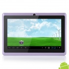 "UBOX A7 7 ""kapazitiver Schirm Android 4.0.4 Tablet PC w / TF / Kamera / Wi-Fi / G-Sensor - Lila"