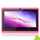 "UBOX 7 ""емкостный экран Android 4.0.4 Tablet PC W / TF / Camera / Wi-Fi / G-Sensor - Deep Розовый"
