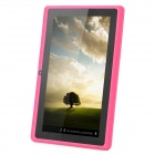 "UBOX 7"" Capacitive Screen Android 4.0.4 Tablet PC w/ TF / Camera / Wi-Fi / G-Sensor - Deep Pink"