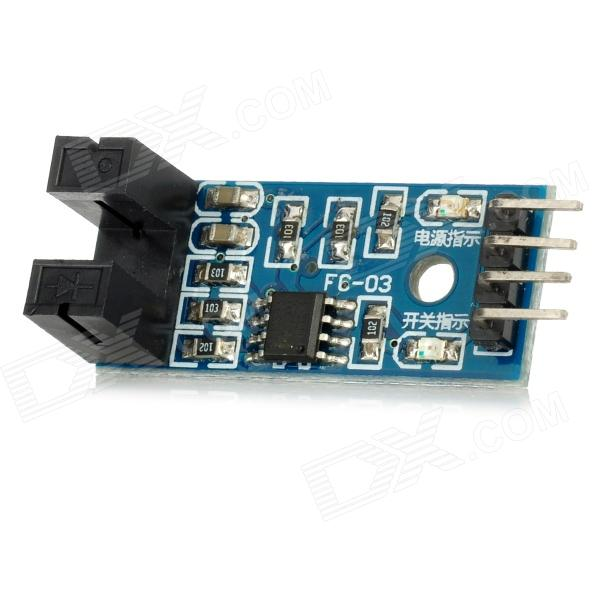 LM393 Comparator Speed Sensor Module for Arduino (Works with Official Arduino Boards)