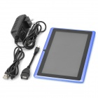 "UBOX 7"" Capacitive Screen Android 4.0.4 Tablet PC w/ TF / Camera / Wi-Fi / G-Sensor - Blue"