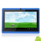 "UBOX 7 ""емкостный экран Android 4.0.4 Tablet PC W / TF / Camera / Wi-Fi / G-Sensor - Blue"