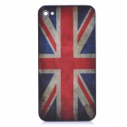 Retro UK National Flag Pattern Protective Back Cover Housing Case for iPhone 4S