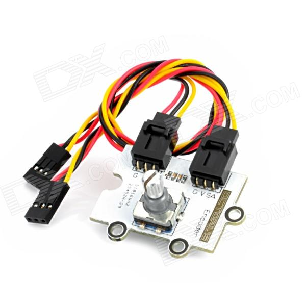 Octopus Rotary Encoder Brick for Arduino (Works with Official Arduino Boards) free shipping hot sales rotary encoder module brick sensor development board for arduino