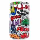 Graffiti Style Protective Plastic Back Case for Samsung Galaxy S3 i9300 - Colorful