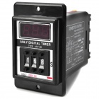 ASY-3D 1.3'' LCD Display Digital Timer - Black (AC 220V)