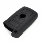 Protective Silicone Case for BMW 3-Button Smart Key - Black