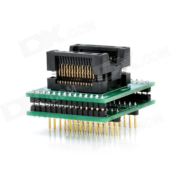 цена на SOP28 to DIP28 Programmer Adapter - Green