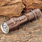 SA-16 Cree XR-E Q5 235LM 3-Mode White Light Flashlight - Brown (1 x 18650)