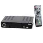 H.264/MPEG4 DVB-T2 HD/SDTV Receiver Digital Television Box - Black