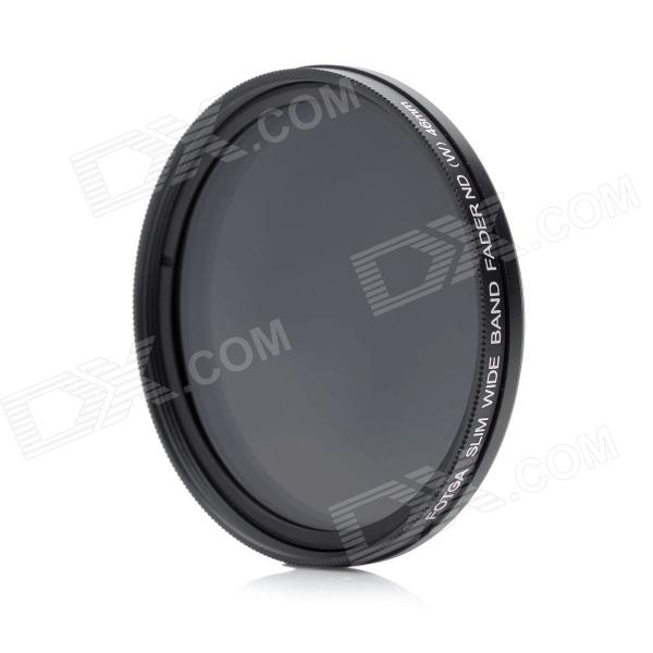 FOTGA Variable Neutral Density ND2-ND400 Fader Filter - Black (46mm) fotga neutral density nd2 nd400 fader nd filter 72mm