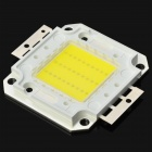 DIY 30W 6500~7000K 2500~3500lm Square LED White Light Board (DC 33~35V)