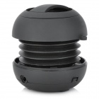 Rechargeable Wireless Bluetooth Music Speaker Player - Black