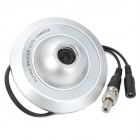 Flying Saucer Shaped PAL 300KP CMOS CCTV Camera for Elevator - Silver