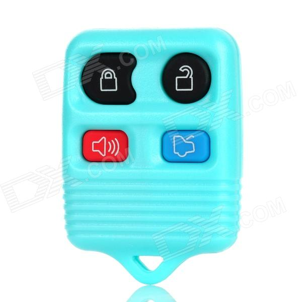 Ersatz 4-Button Smart Key Gehäuse Case für Ford - Light Blue