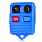 Replacement 4-Button Smart Key Housing Case for Ford - Dark Blue