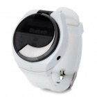 Multifunction Bluetooth 2.1 Wrist Watch w/ Receiving / Talking / Dialing / Time Display - White