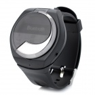 Multifunktions-Bluetooth 2.1-Armbanduhr w / Empfangen / Reden / Wahl / Time Display - Schwarz