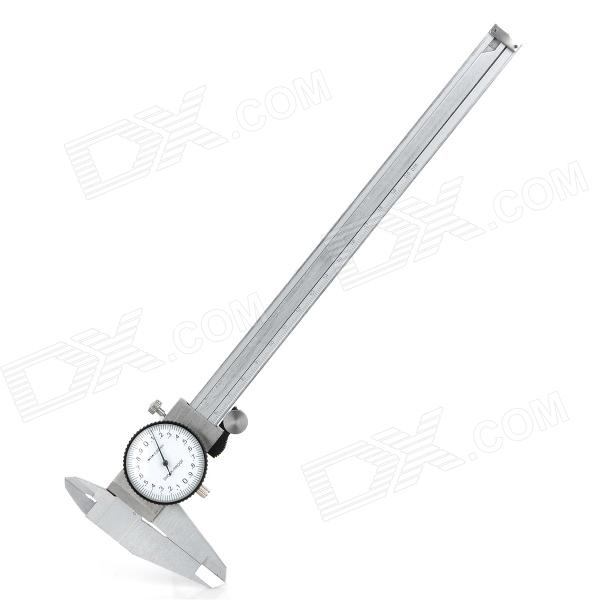 200mm Stainless Steel Dial Caliper with Case - Silver stainless steel material aaron wire bar effective coating width 200mm scraping ink bar