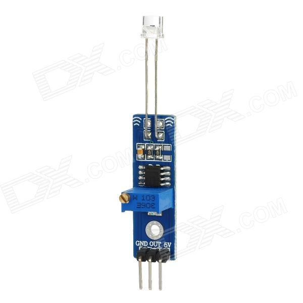 Photoelectric Sensor Module for Arduino (Works with Official Arduino Boards) cg311 ds18b20 temperature sensor module for arduino works with official arduino boards