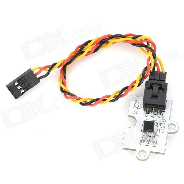 Octopus Analog Linear Temperature Sensor Brick for Arduino (Works with Official Arduino Boards) led green light octopus electronic building block brick module for arduino