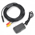 Waterproof AV-Out 2-LED Illuminated Snake Camera Endoscope (7m-Cable Length)