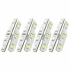 1.26W 7-SMD 5050 White / Red LED Car Door Light for Volkswagen / Skoda (4 PCS)